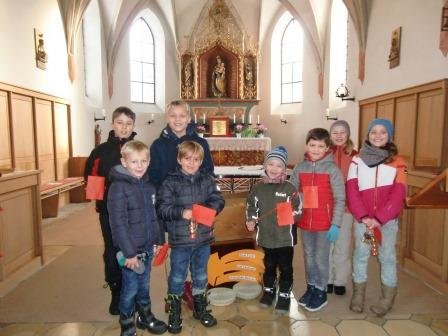 2017 Advent Hirschzell Kinder